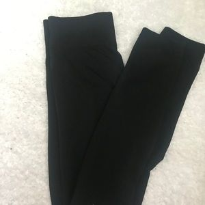Super high waisted black leggings